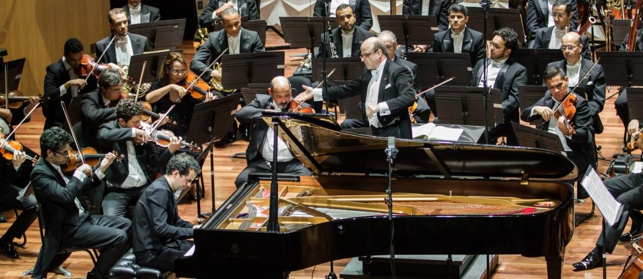 Após longo período de incerteza, em setembro músicos da OSB puderam retomar as atividades em série na Cecília Meireles Foto: Cícero Rodrigues / Divulgação