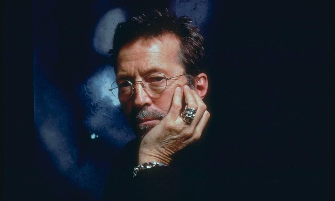 O guitarrista e compositor Eric Clapton Foto: Divulgação