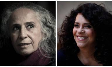 """Maria Bethânia e Gal Costa unem suas vozes na música """"Minha mãe"""" Foto: Fotos de Léo Martins e Marcos Alves / Agência O Globo"""