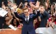 """Benedict Cumberbatch na estreia canadense de """"O Jogo da Imitação"""""""