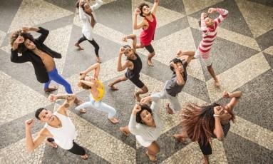 Os dançarinos do Grupo Suave Foto: Renato Mangolin / Divulgação