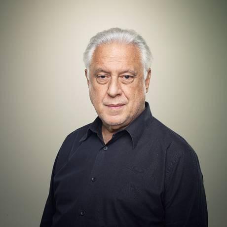 O ator Antônio Fagundes em 2015, à época da estreia da peça