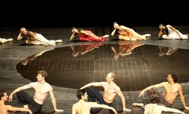 """Cena do espetáculo """"Néfes"""", que será apresentado em novembro no Teatro Alfa, em São Paulo Foto: Divulgação"""