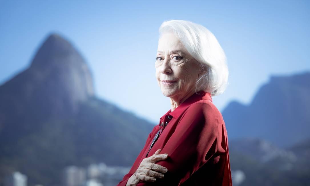 A atriz Fernanda Montenegro Foto: Leo Martins / Agência O Globo