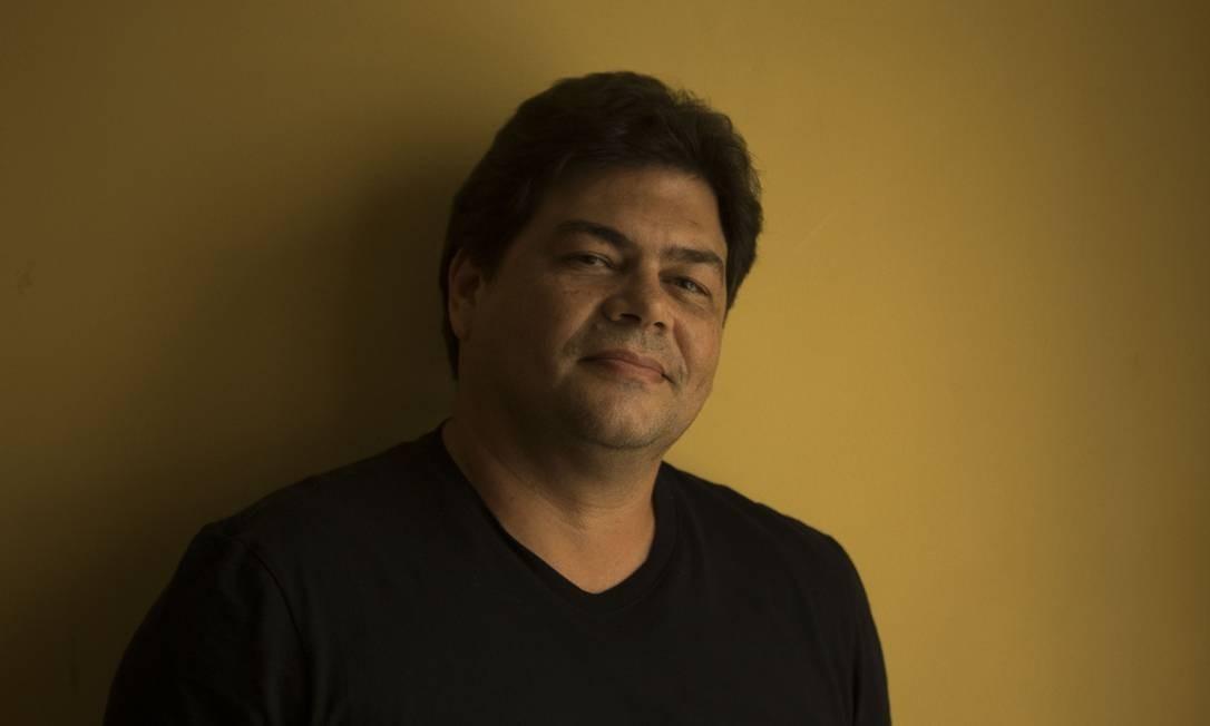 Fernando Philbert: sequência de trabalhos elogiados por público e crítica Foto: Guito Moreto / Agência O Globo