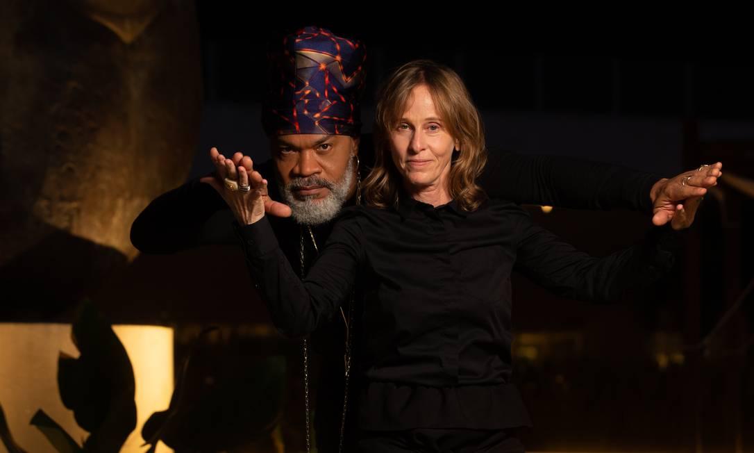 Carlinhos Brown e Deborah Colker juntos pela 'Cura' Foto: Roberto Moreyra / Agência O Globo