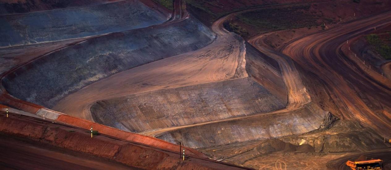 Mina da Vale em Minas Gerais Foto: Dado Galdieri / Bloomberg News