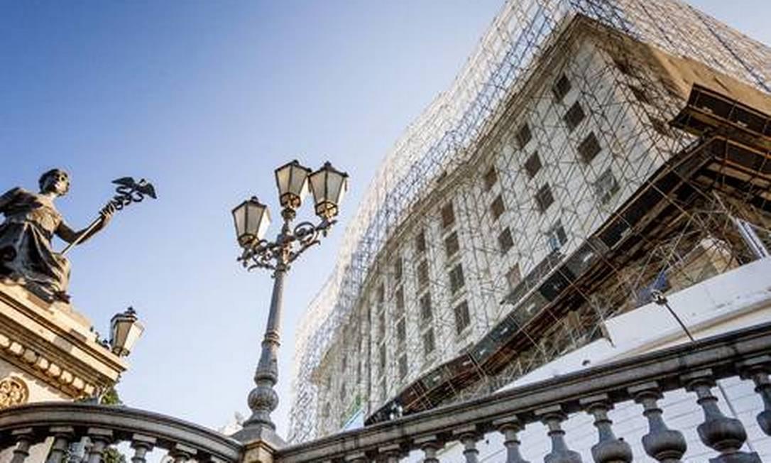 Hotel Glória será transformado em empreendimento residencial com serviços pelo fundo imobiliário Opportunity Foto: Gustavo Pellizzon/Agência O Globo