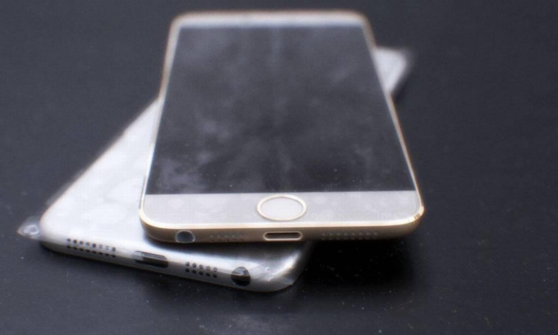 Imagem de suposto protótipo do iPhone 6 Foto: Reprodução