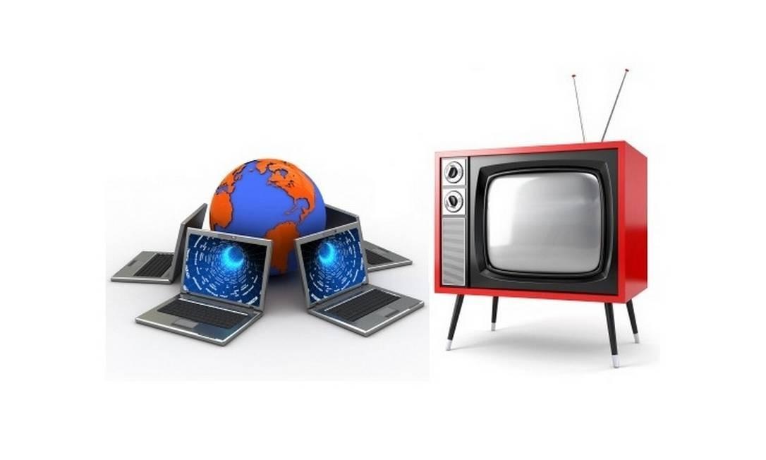 Internet está ganhando a briga com a TV Foto: Reprodução