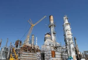 Refinaria de Pasadena, no Texas Foto: Divulgação/ / Agência Petrobras