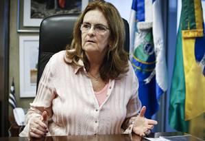 Presidente da Petrobras, Maria das Graças Foster Foto: Guito Moreto / O Globo/25-3-2014