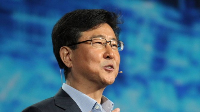 Woo Nam-sung, ex-chefe de chips da Samsung Foto: Reprodução / Korea Herald
