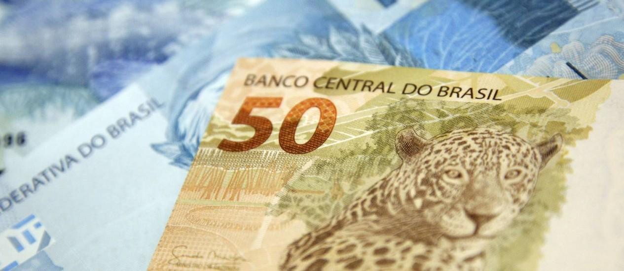 Notas de real Foto: Adriano Machado / Bloomberg News