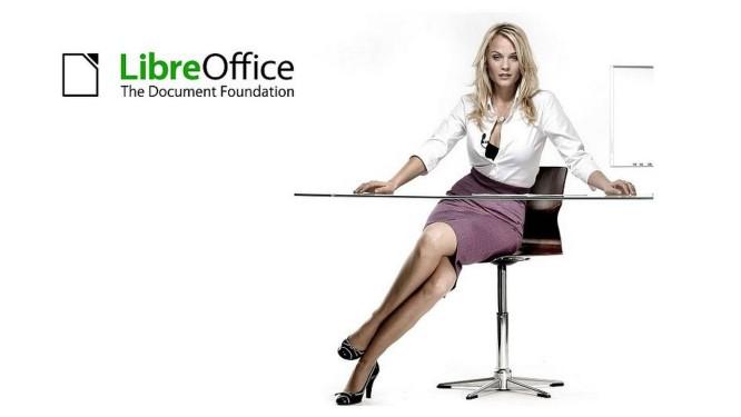 Logomarca do LibreOffice, da TDF, em campanha publicitária Foto: Reprodução