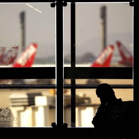 Terminal 1 do Galeão Foto: Custódio Coimbra / O Globo