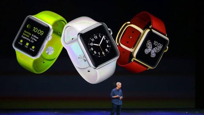 40151f4277c Tim Cook apresentando o Apple Watch no evento em Cupertino