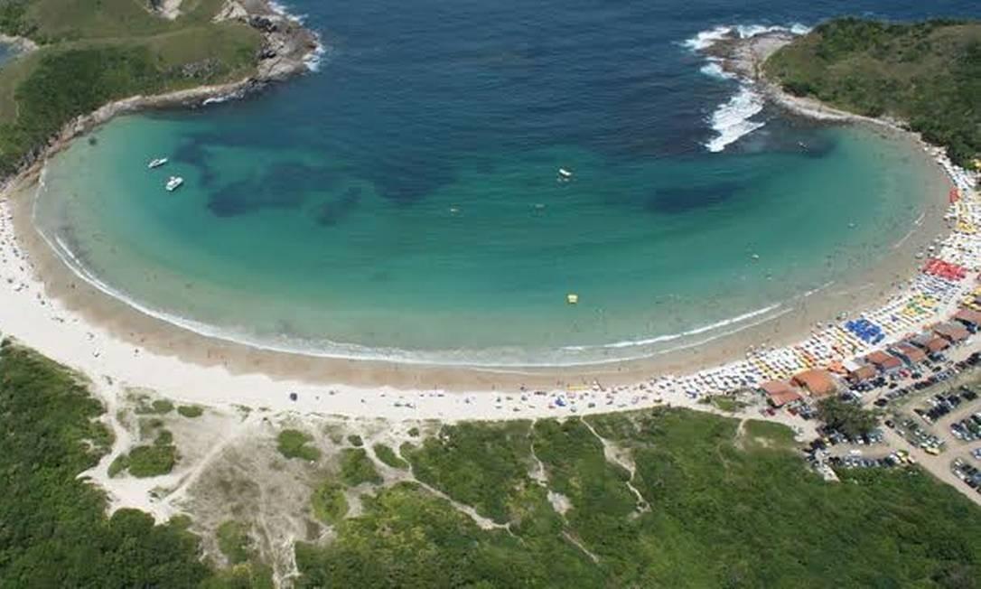 Praia das Conchas, em Cabo Frio Foto: Ernesto Galiotto / Divulgação