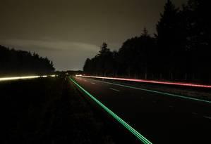 Testes da 'Smart Highway' na Holanda Foto: Pim Hendriksen DOT com / Divulgação