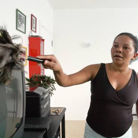 Maria Araújo Silva, empregada doméstica em Brasília Foto: Ailton de Freitas / Agência O Globo