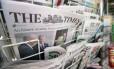 Jornais em uma banca de Londres - 28.06.2012