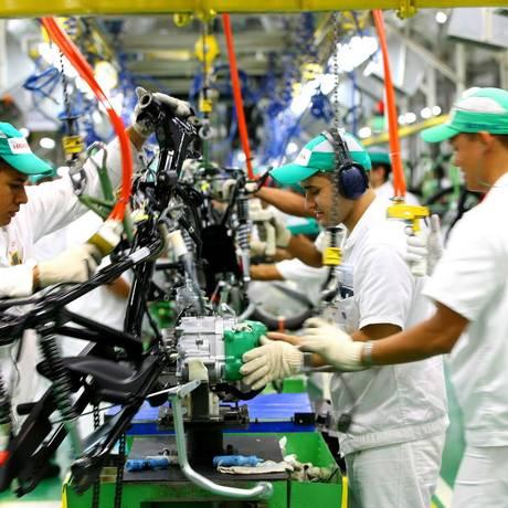 Fábrica da Honda, em Manaus Foto: Divulgação / Divulgação