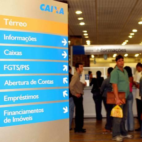 Caixa Econômica Federal Foto: Lucíola Villela