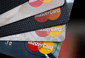 Cartões MasterCard Foto: Agência O Globo