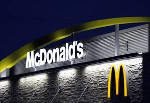 Fachada de um restaurante McDonald's em Shelbyville, Kentucky (EUA) Foto: Luke Sharrett / Bloomberg