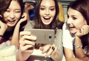Linha Galaxy A: voltado para os amantes de selfies Foto: Divulgação