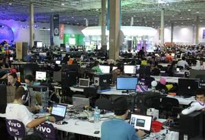 Campus Party 2015: privacidade digital foi um dos temas do evento Foto: Marcos Alves / Agência O Globo