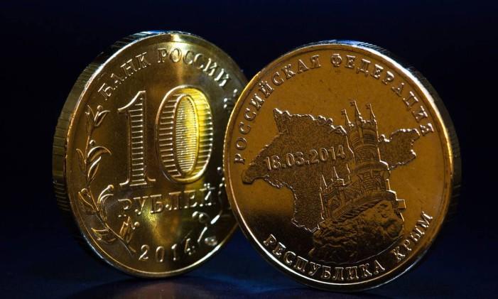 Moeda de rublo Foto: Andrey Rudakov / Bloomberg