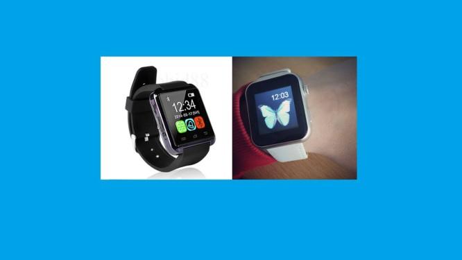 e18eb634287 Duas versões do relógio falso encontradas no site eBay Foto  Reprodução