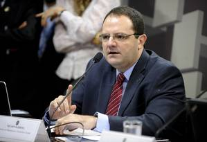 Nelson Barbosa defende ajuste fiscal na Comissão de Assuntos Econômicos do Senado Foto: Marcos Oliveira / Agência Senado