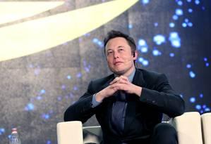 Elon Musk, CEO da Tesla Foto: Bloomberg