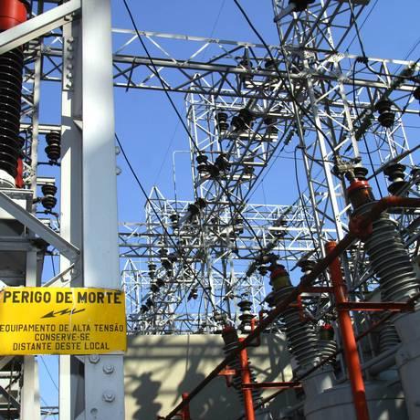 Transformadores da Eletropaulo Foto: Marcos Issa / Bloomberg News