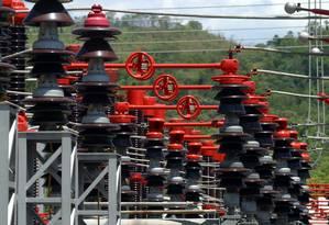 Torres de alta tensão da Cesp em Paraibuna Foto: Marcos Issa / Bloomberg News