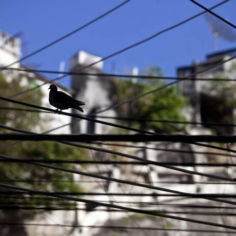 Cabos de eletricidade no Rio Foto: Dado Galdieri / Bloomberg News