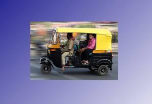 Auto-riquixá em Bangalore, na Índia Foto: Muhammad Mahdi Karim / Wikimedia Commons, licença GFDL 1.2 http://goo.gl/6ij8Rl