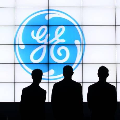 Logo da GE Foto: Goh Seng Chong / Bloomberg News