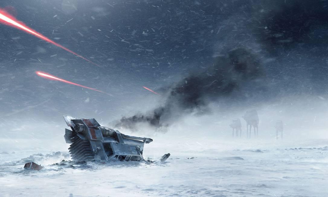 """""""Star Wars: Battlefront"""" chega em novembro aos videogames Foto: Divulgação"""
