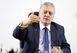 Aldemir Bendine, presidente da Petrobras Foto: Agência O Globo