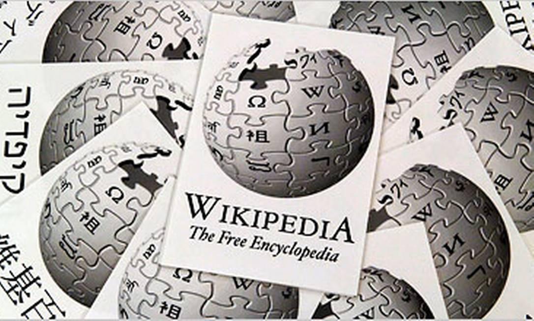 A enciclopédia on-line Wikipédia tornou-se quase um organismo vivo dentro da própria internet Foto: Boris Roessler / European Pressphoto Agency