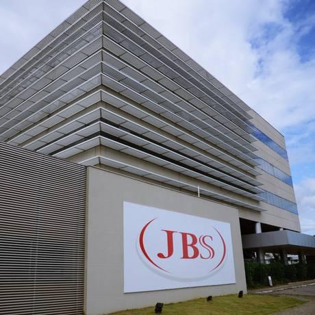 Sede da JBS Food em ItajaÍ, Santa Catarina Foto: O Globo/ 26-4-2014