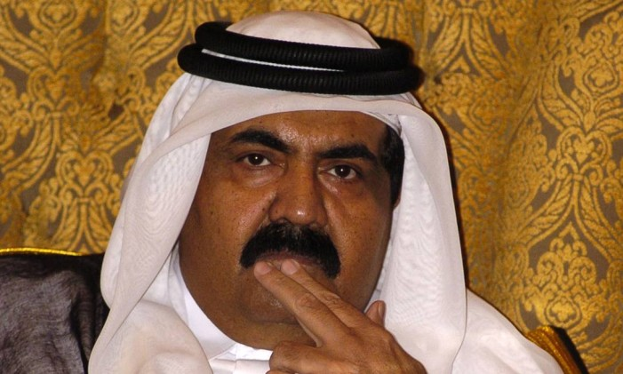 Hamad bin Khalifa Al Thani na Cúpula do Golfo Foto: CHARLES CROWELL / BLOOMBERG NEWS