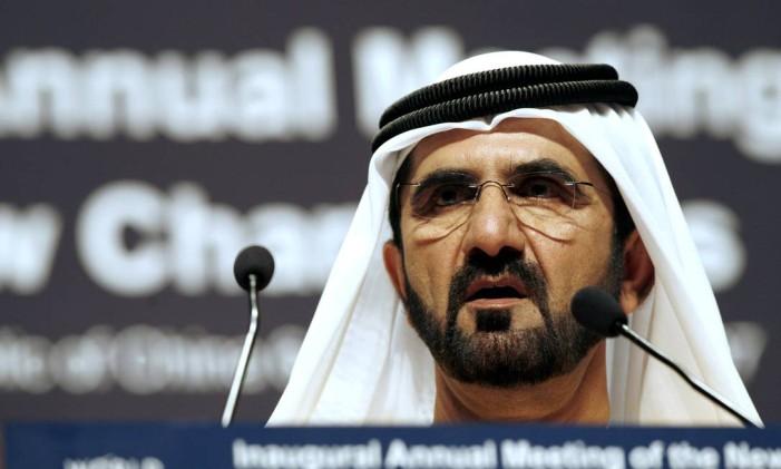 Sheikh Mohammed bin Rashid Al Maktoum Foto: QILAI SHEN / BLOOMBERG NEWS