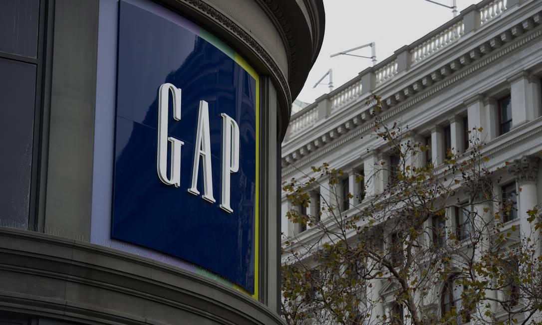 Fachada de uma loja da GAP em São Francisco, Califórnia Foto: David Paul Morris / Bloomberg
