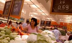 Inflação: preços em alta Foto: ANDRE VIEIRA / BLOOMBERG NEWS