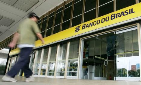 Agência do Banco do Brasil em Brasília Foto: Bloomberg News