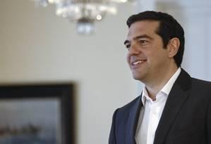 Alexis Tsipras, premier grego Foto: Kostas Tsironis / Bloomberg
